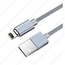 Кабель USB - 8 pin <b>HOCO U40A Magnetic</b> Adsorption, 1.0м ...