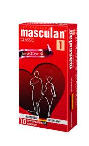 <b>Презервативы Masculan 1 classic</b> нежные, презерватив, 10 шт ...