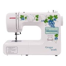 <b>Швейная машина Janome Grape</b> 2016 — купить в интернет ...