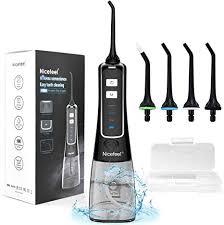 <b>Water Flosser</b> for Teeth, Nicefeel Portable <b>Oral Irrigator</b> Water Dental ...