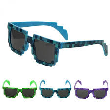Dftjhvn <b>New Novelty</b> Pixel Mosaic Glasses Sunglasses Party ...