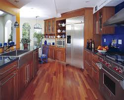 Wood Floor Kitchen Hardwood Floor In A Kitchen Is This Allowed