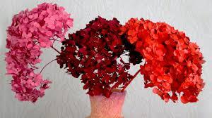 Как покрасить сухие цветы - YouTube