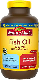Nature Made Fish Oil 1000 mg Softgels, 250 Count ... - Amazon.com