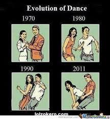 Evolution Of Dance by landeh - Meme Center via Relatably.com