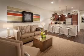 model living rooms:  parcland model living room