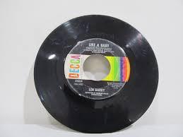raun mac kinnon psych promo color wheel kapp prod 45 record 7 len barry like a baby