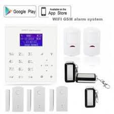 <b>2017</b> KERUI <b>W18 WIFI GSM</b> SMS Home Burglar Security Alarm ...