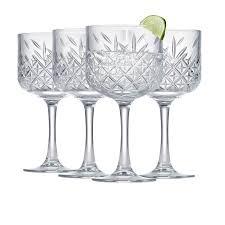 Salt & Pepper Winston Cocktail Glass <b>550ml</b> Set of 4 - Fast Shipping