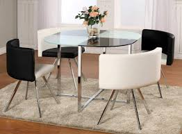 Glass Dining Room Tables Round Round Glass Dining Room Table High Dining Table