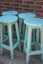 counter height stools rustic