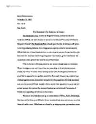the handmaids tale rebellion is freedom   university linguistics  page  zoom in