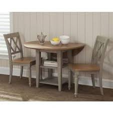 buy liberty furniture al fresco 3 piece 42 inch round dining room set w x breakfast set furniture