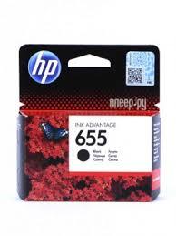<b>Картридж HP 655</b> Ink Advantage CZ109AE Black для 3525/5525 ...