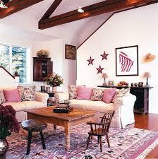 pink living room plans