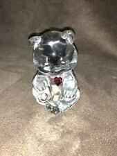 Статуэтка Медведь <b>Красный</b> Fenton <b>art glass</b> - огромный выбор ...