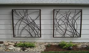 designs outdoor wall art: large outdoor metal wall art makipera