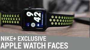 Apple Watch Nike+ Edition Exclusive Watch Faces - YouTube