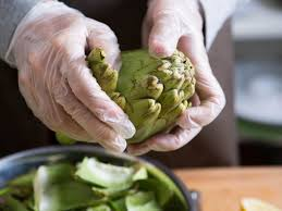 knife skills how to clean trim and prepare artichokes serious 20150320 artichoke prep vicky wasik 8 jpg