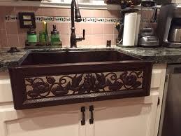 eden copper farmhouse kitchen sink apron kitchen sink kitchen