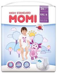 <b>Momi трусики High Standard</b> XXL (от 15 кг) 26 шт. — купить по ...