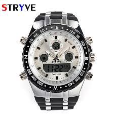 Aliexpress.com : Buy <b>STRYVE Brand</b> Sports Watches <b>Men</b> Dual ...
