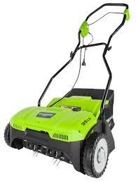 <b>Аэратор greenworks GDT35</b> — купить по выгодной цене на ...