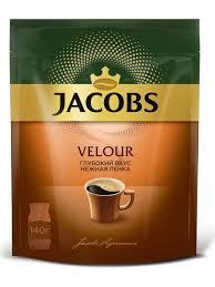 <b>Кофе растворимый Jacobs Velour</b>, 140г Jacobs 13071426 в ...