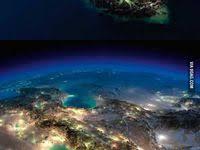 Earth at <b>Night</b>: лучшие изображения (99) в 2019 г. | Космос, Земля ...