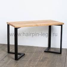 """Рабочий <b>стол</b> """"Шеврон"""" в индустриальном стиле, столешница из ..."""