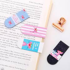 4 Pieces <b>Cartoon</b> Magnet <b>Bookmark Creative</b> Student Mini Label ...