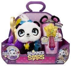 <b>Мягкая</b> игрушка <b>Shimmer Stars панда</b> Пикси с сумочкой 20 см ...