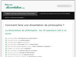 Dissertation En Philosophie Comment Faire Home