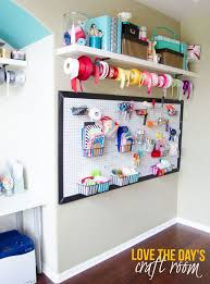 awesome craft room wall organizer awesome craft room