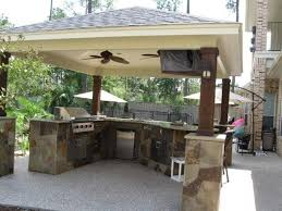 Outdoor Patio Kitchen Outdoor Patio Kitchen 17 Best Ideas About Covered Outdoor