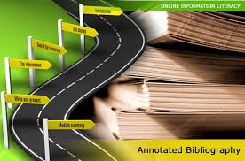 Image result for annotated bibliography