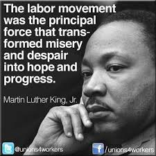martin luther king jr | Today in Labor History