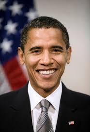¿Conseguirá Romney recortar la distancia con Obama para ganar las elecciones a la presidencia de los Estados Unidos de América? Barack Obama, sonrisa de ... - poster-sized_portrait_of_barack_obama_origres