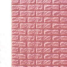 10 PCS 3D Brick Wall Stickers, Pe Foam Self ... - Amazon.com