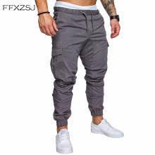 2018 <b>FFXZSJ Brand</b> Men Pants Hip Hop Harem Joggers Pants 2018 ...