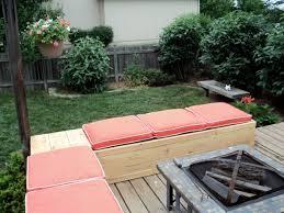 fabulous diy outdoor pallet diy patio bench outdoor deck furniture ideas small decorating