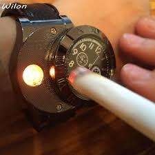 1pcs Lighter <b>Watch</b> Men's Military USB <b>Charging</b> F665 Hot sports ...