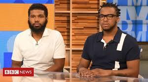 Starbucks race row: Black <b>men</b> arrested in Philadelphia <b>cafe</b> settle ...