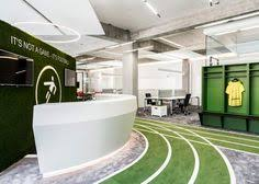 unless you happen to work at google your conventional office space is going to seem awfully boring compared to the slides disappearing desks agency office literally disappears hours