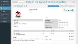 how to convert an estimate to an invoice how to convert an estimate to an invoice