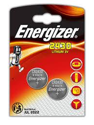 <b>Батарейки Energizer</b> для электронных устройств - <b>CR2430</b> Russian