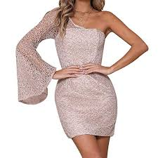 Buy XuBa Women <b>Fashion Sexy Off</b>-shoulder Nightclub Sequined ...