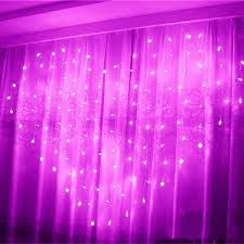 Heart-shaped <b>LED</b> Fairy String Curtain Light 2M*<b>1.5M 124 Leds</b> ...
