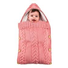Buy <b>Baby's Stroller Sleeping Bag</b> Button Design Thickened Warm ...