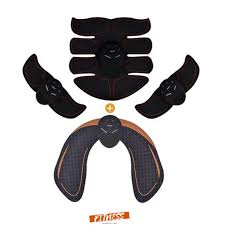 Online Shop 8pcs ABS <b>EMS Electric Muscle</b> Stimulator <b>Wireless</b> ...